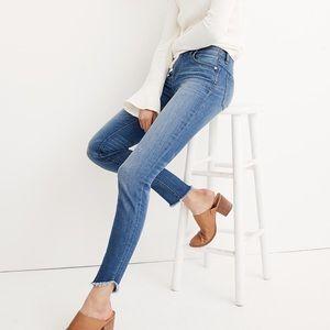"Madewell 10"" High-Rise Skinny Jeans: Tulip-Hem"